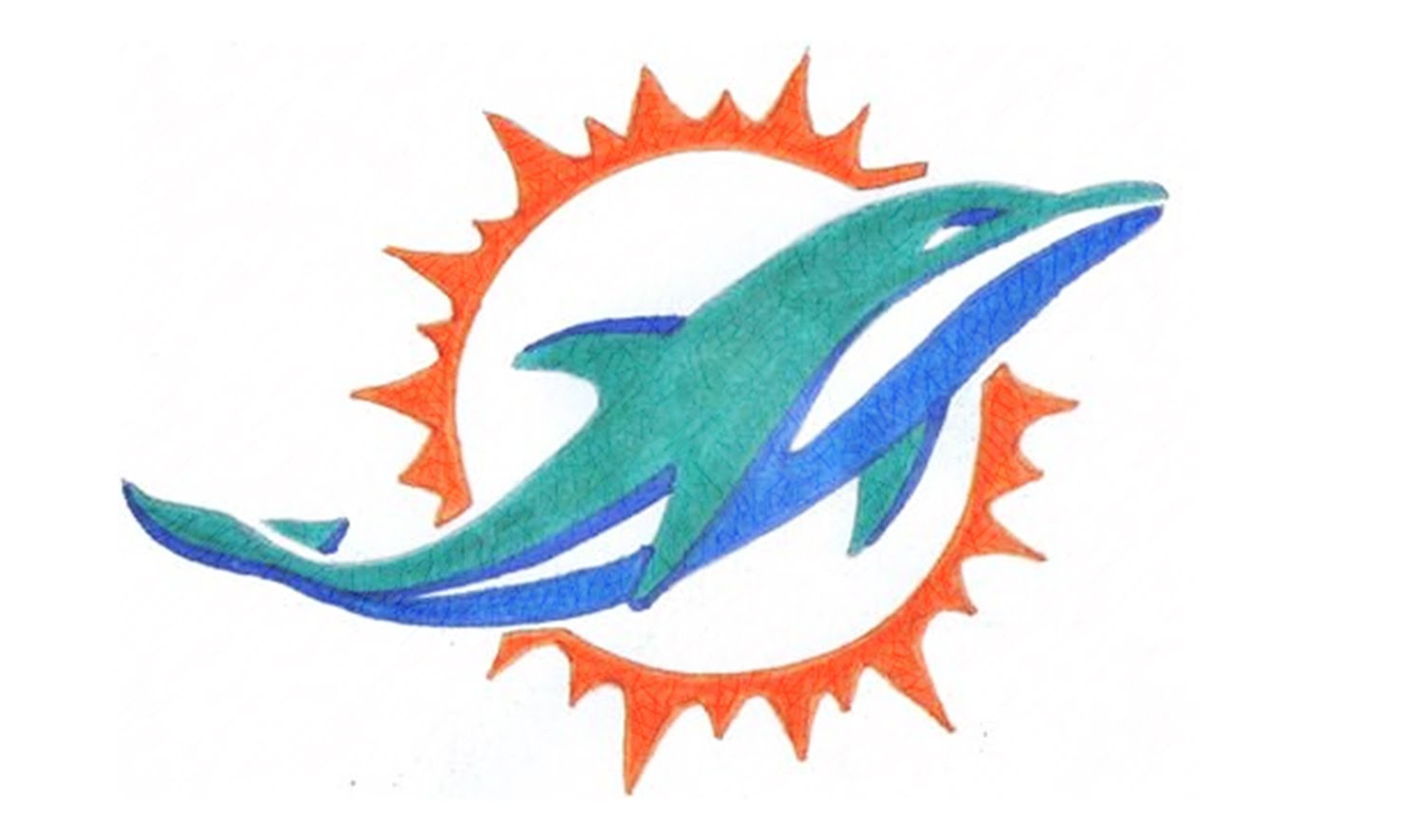 1500x885 How To Draw The Miami Dolphins Logo (Nfl)