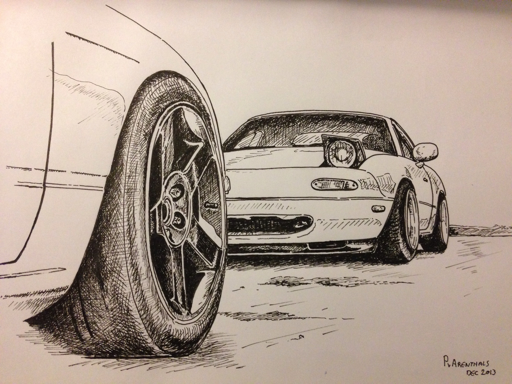 Miata Drawing At Free For Personal Use 1993 Mazda Wiring Diagram 2048x1536 Mx5 Cars And