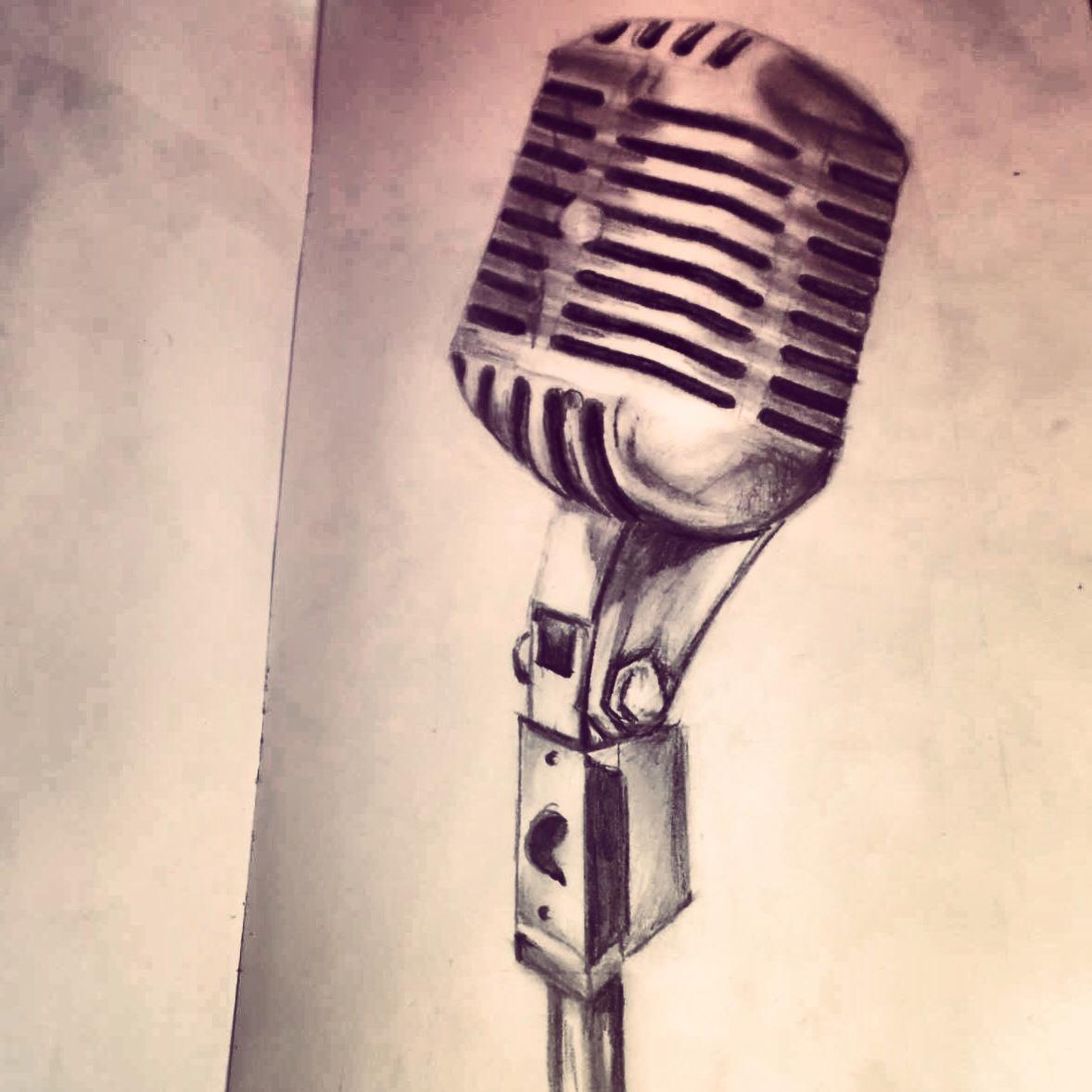 1178x1178 Mic Pencil Drawing Art That I Love