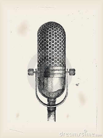 336x450 Microphone Drawing Painting Projects Tattoo, Tatoo