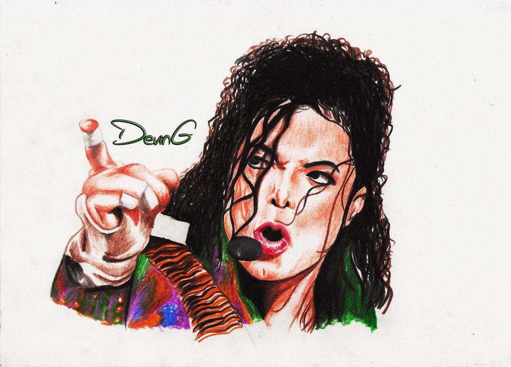 1024x735 Michael Jackson Drawing By Devingmp