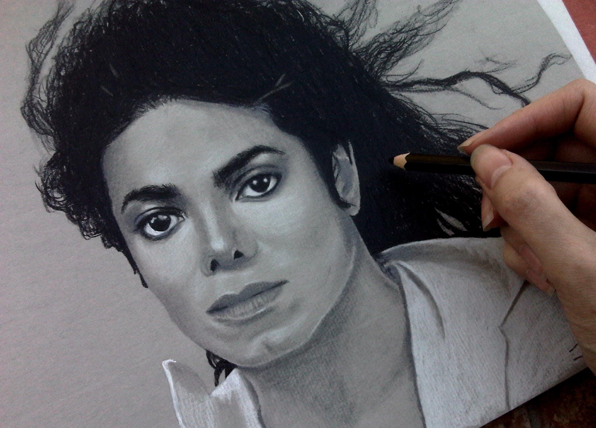 1965x1412 Speed Drawing Of Michael Jackson Jasmina Susak