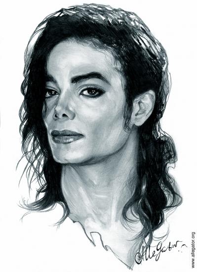 399x550 Worldwide Michael Jackson Fans Michael Jackson Pencil Drawings
