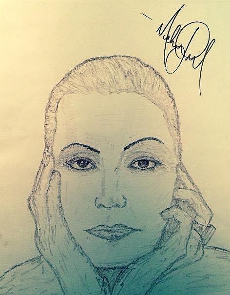 472x605 Jackson Drawing Greta Garbo.