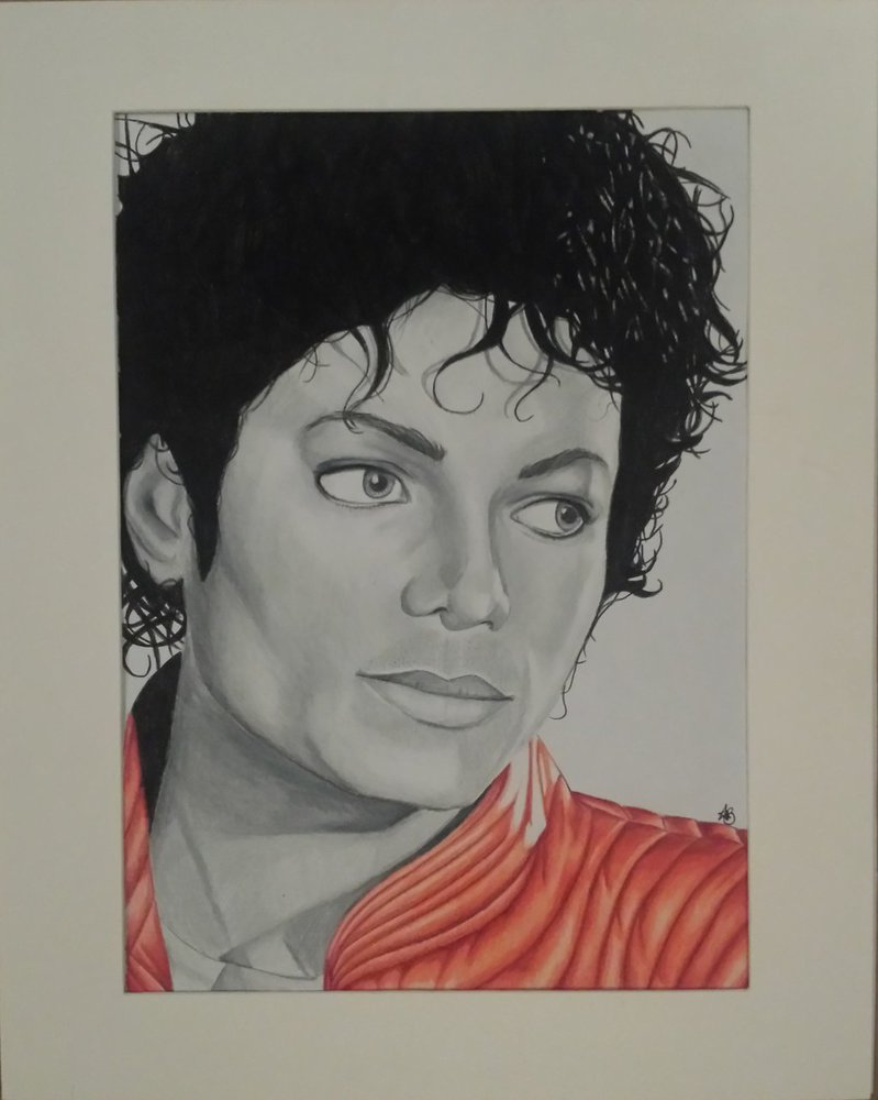 799x1000 Michael Jackson Drawing 27x35cm For Sale By Annvasart