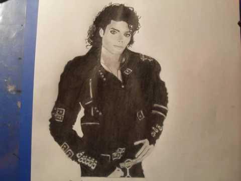 480x360 Michael Jackson Drawing Bad