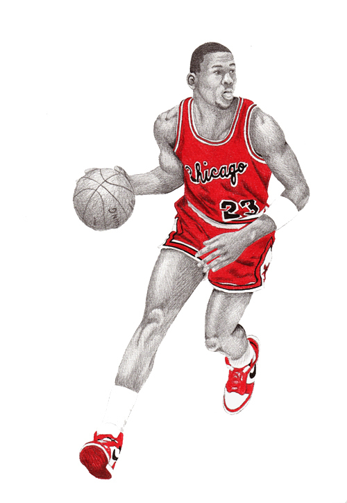 500x725 Jordan Drawings On Behance