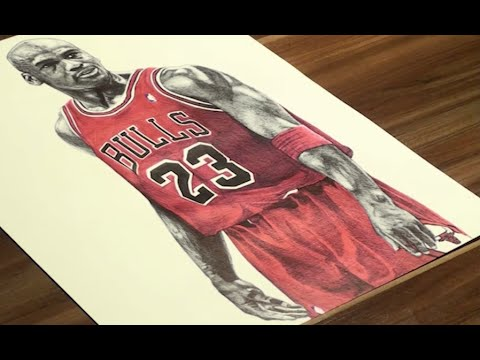 480x360 Michael Jordan Drawing