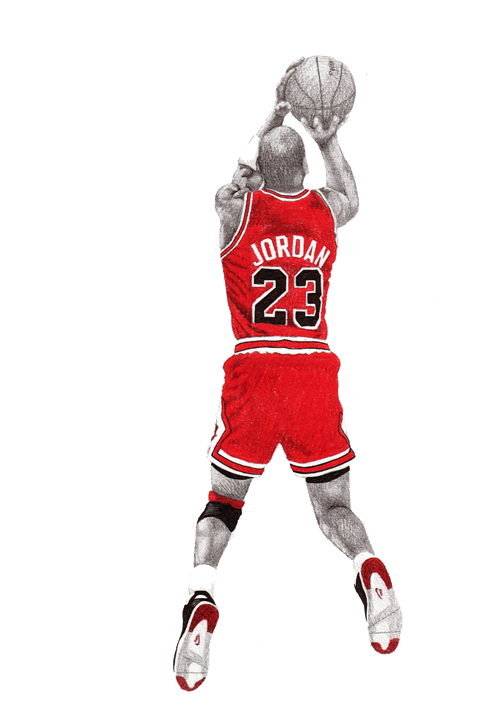 500x721 Michael Jordan Drawings On Behance