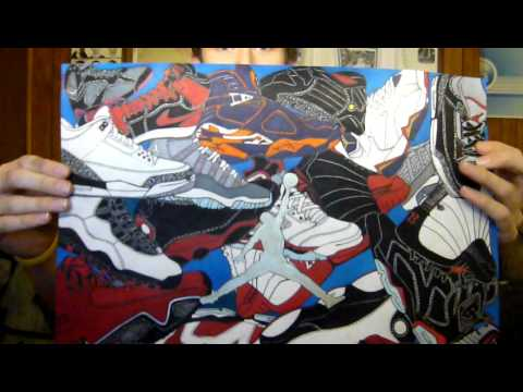 480x360 Air Jordan Shoe Drawing. If You Want One Of Your Collection