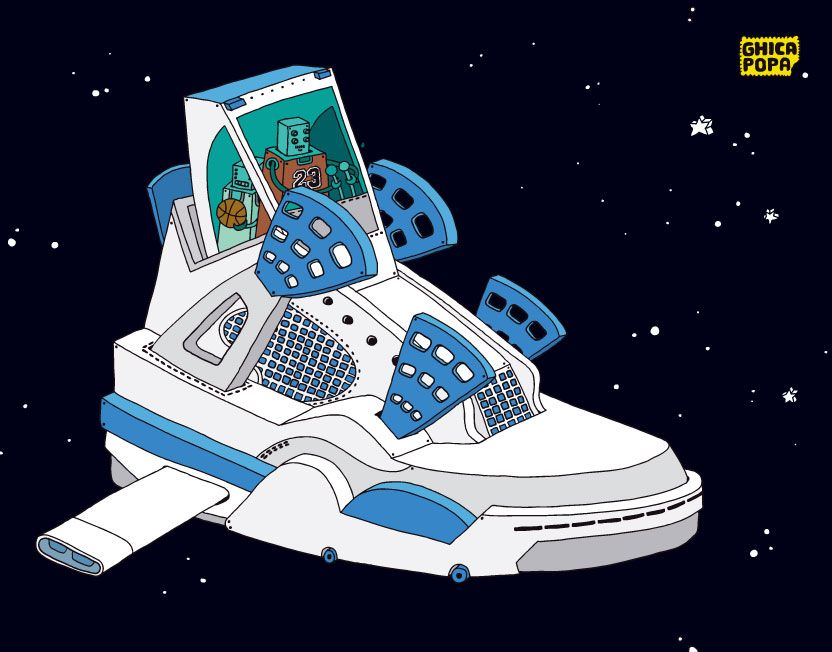 832x652 The Space Sneaker Project By Ghica Popa Musings