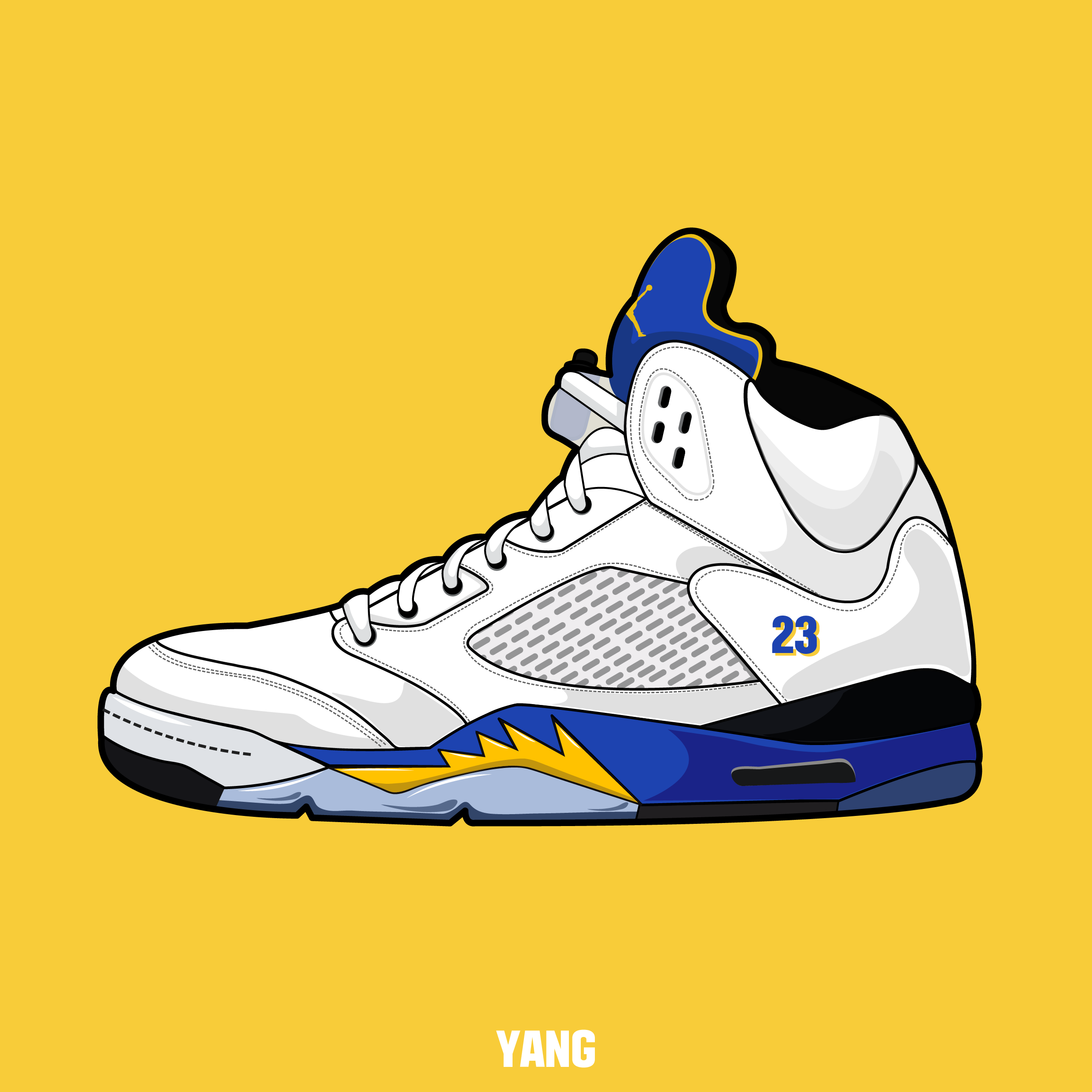 Michael Jordan Shoes Drawing at GetDrawings Free for