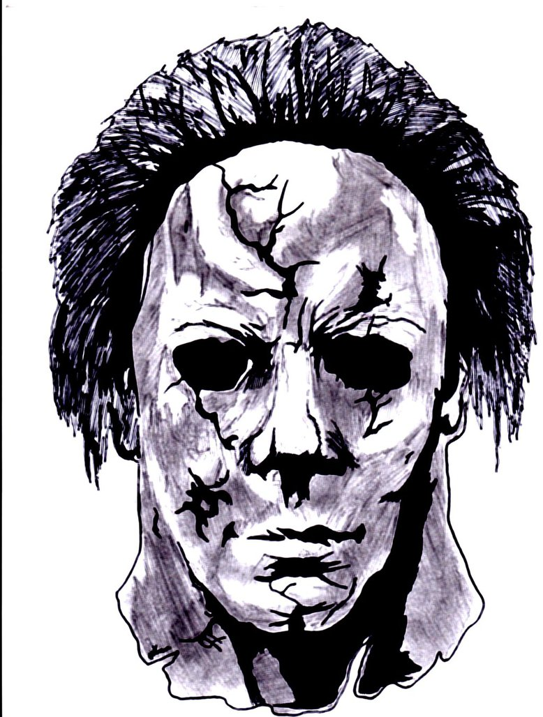 778x1028 Michael Myers 2007 By Wolfteen96