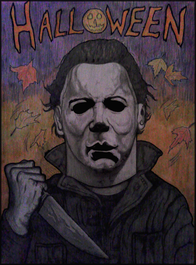 400x541 Michael Myers Colored And Shaded Drawing Drawings And Paintings
