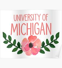 210x230 Michigan Drawing Posters Redbubble