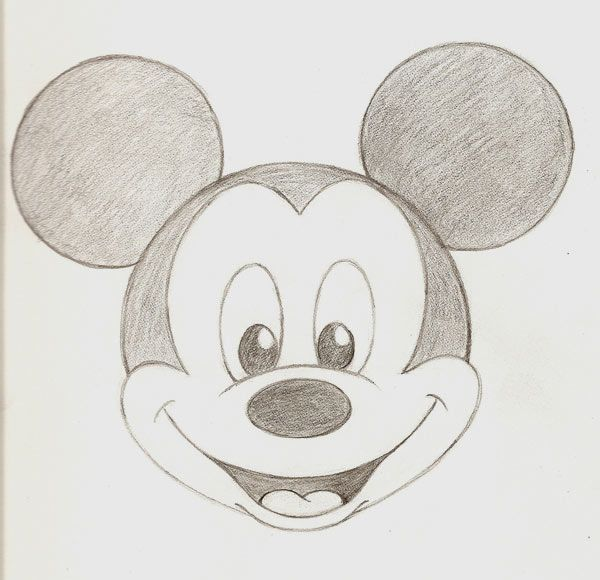 600x580 Mickey Mouse Drawing Art Ideas And Help Hibiscus