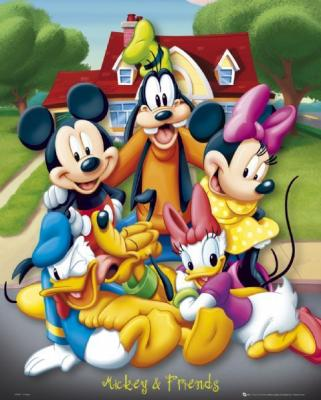 321x400 Disney Mickey Mouse And Friends 73535 Nayerayouthleader