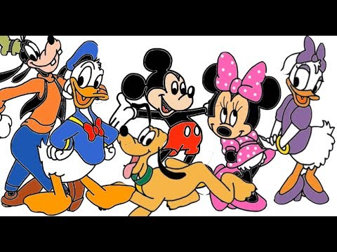480x360 How To Draw Disney's Mickey Mouse Clubhouse Characters Compilation