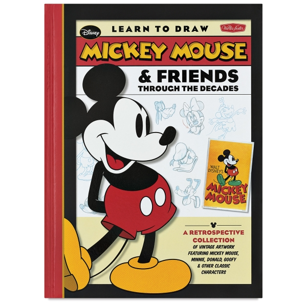 600x600 Learn To Draw Mickey Mouse Amp Friends Through The Decades