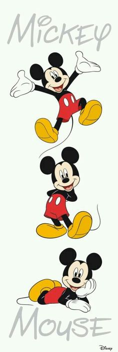 236x700 Mickey Mouse (Color) By Linus108nicole Disney