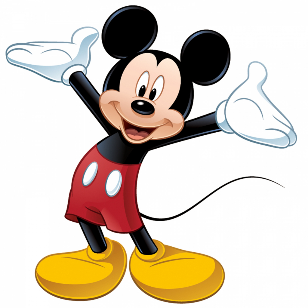 1024x1024 Mickey Mouse Cartoon Drawing Cartoon Drawing Mickey Mouse