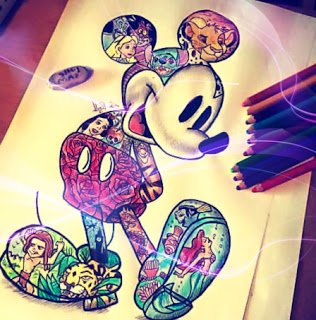 316x320 Mickey Mouse Drawing (@HowToDrawMickey) Twitter