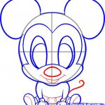 150x150 How To Draw Mickey Mouse Face For Kids Pictures Of Mickey Mouse