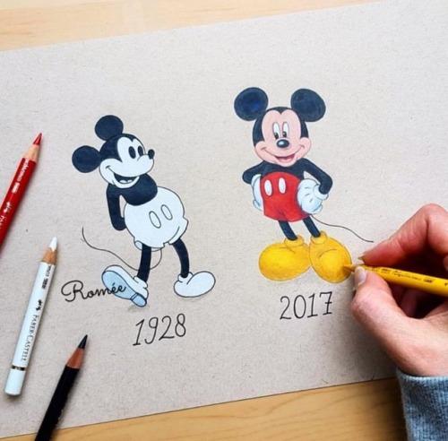 500x492 Mickey 1928 Tumblr