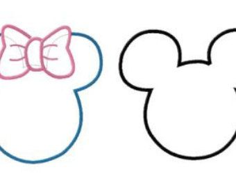 340x270 Instant Download Disney Mickey And Minnie Ears Two Pack Machine