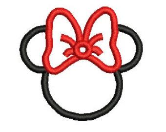 340x270 Minnie Mouse Ear Clip Art Clipart Panda