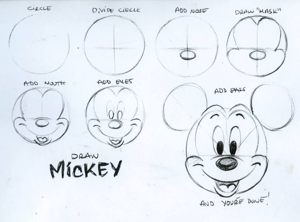 961x713 drawing mickey mouse just stuff pinterest mickey mouse mice