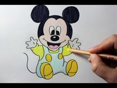 236x177 How To Draw Mickey Mouse Cute + Easy And Color With Crayola