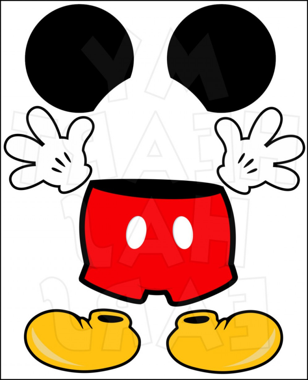 996x1228 Minnie Mouse Face Drawing Free Mickey And Minnie Mouse Vector Draw