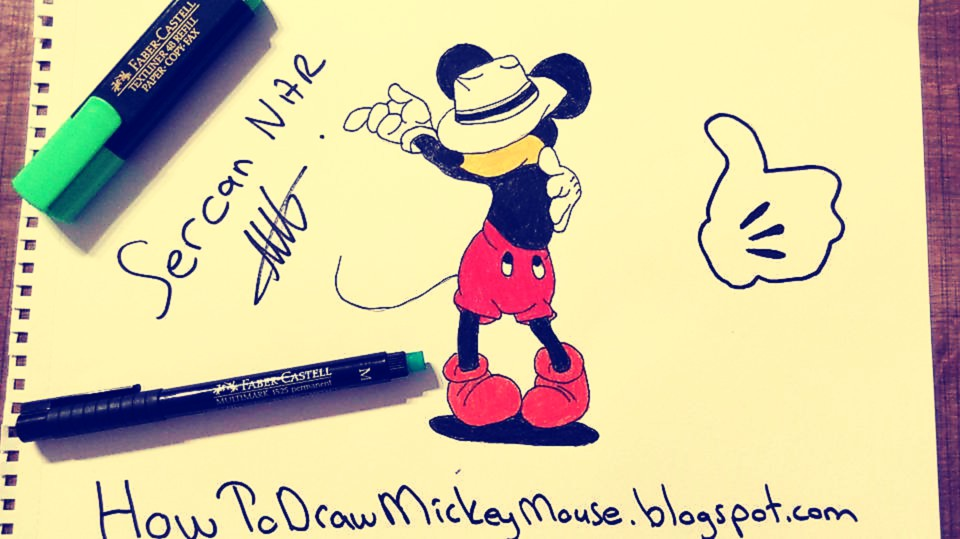 960x539 Easy Mickey Mouse Drawings And Sketches