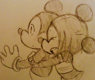 320x271 Mickey Amp Minnie Mouse Try To Draw This Couple Based