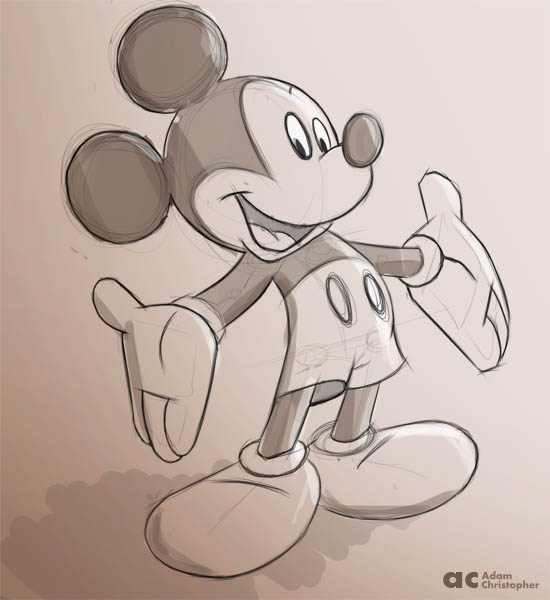 550x600 Mouse Sketches And Drawings