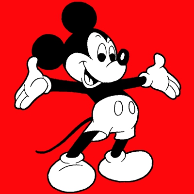 400x400 How To Draw Mickey Mouse With Easy Step Step Drawing Tutorial