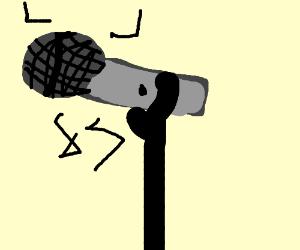 300x250 Broken Microphone.