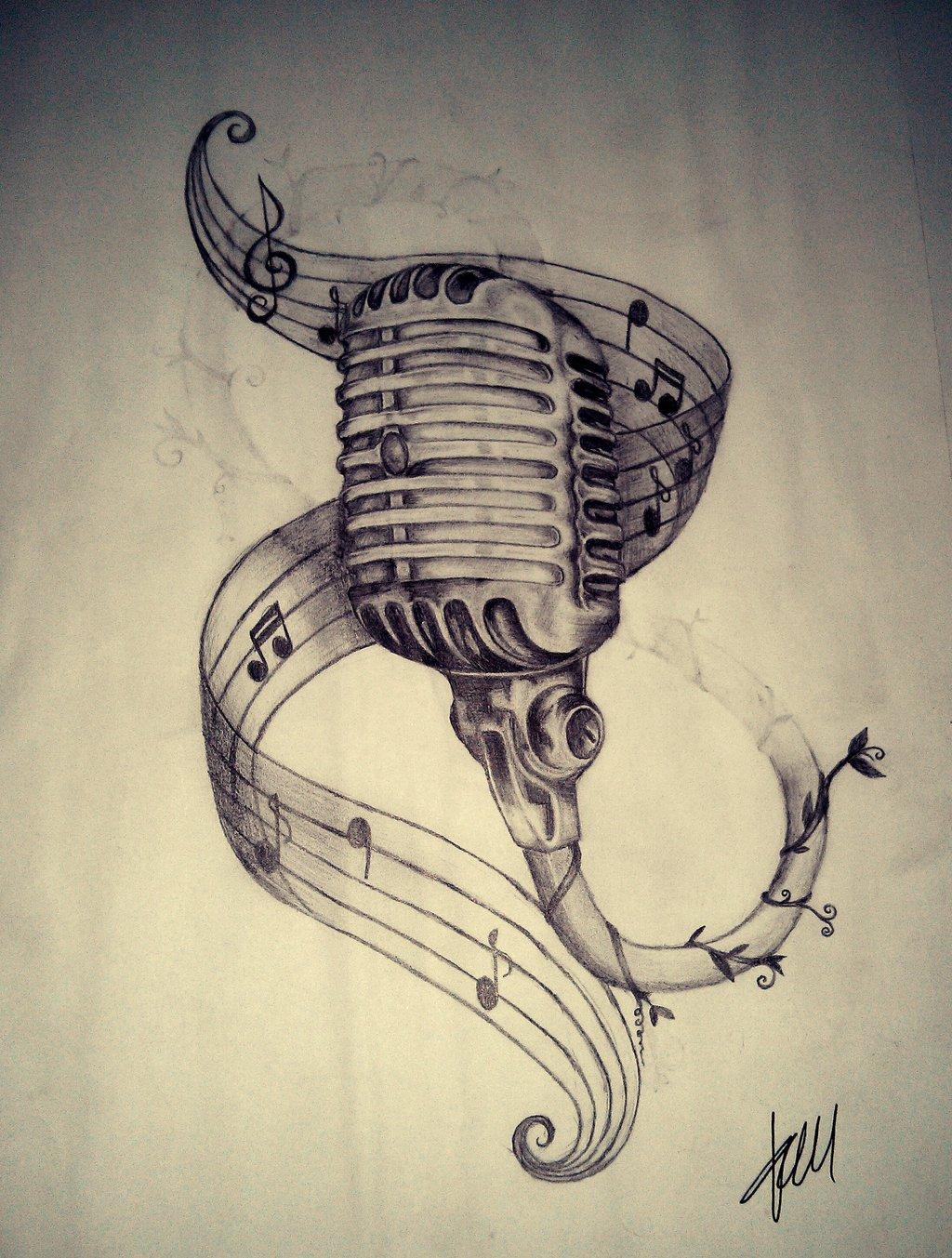 1024x1353 Old Skool Mic By Chakra On @ Music