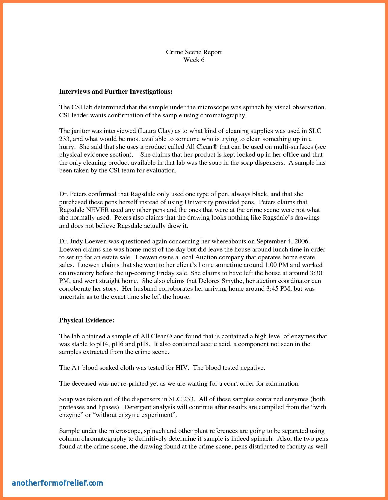 1295x1670 Autopsy Report Template Unique Delighted Crime Scene Template