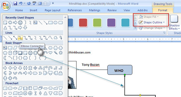 580x310 How To Build A Mind Map In Microsoft Word