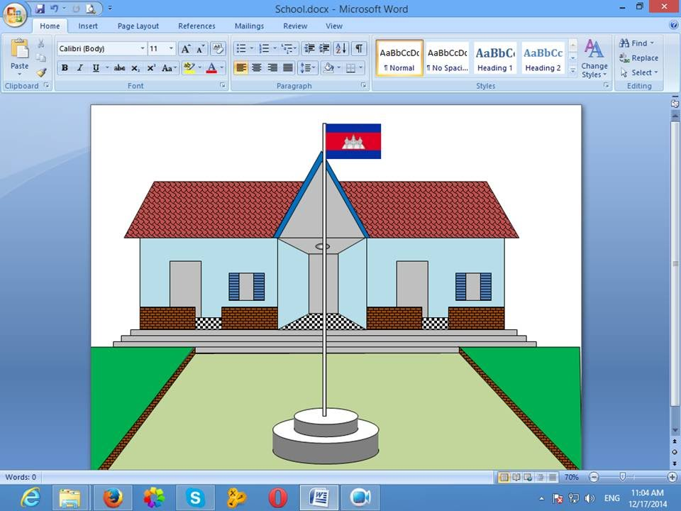 960x720 How To Draw In Microsoft Word