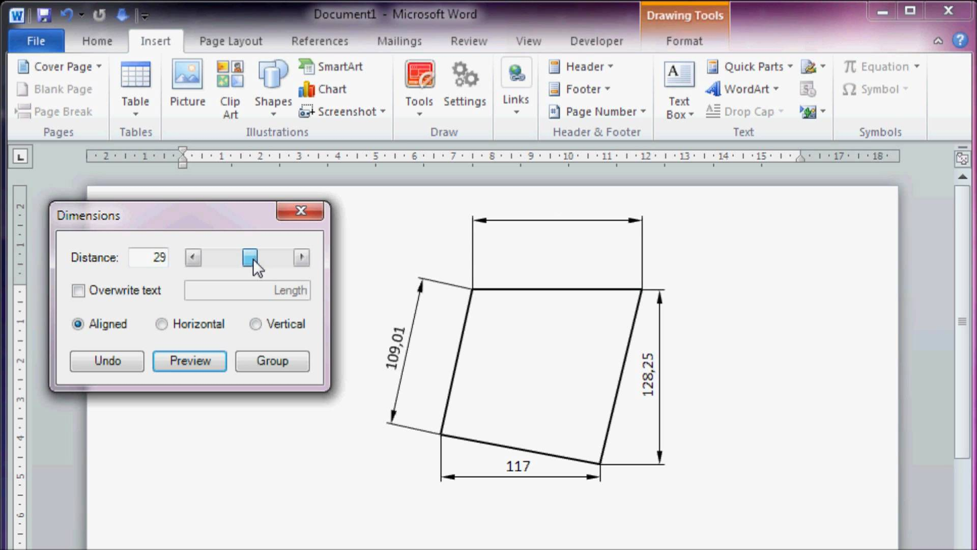 1920x1080 Cad Like Dimensioning In Microsoft Office Word 2010