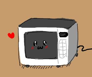 300x250 Cute Blushing Microwave