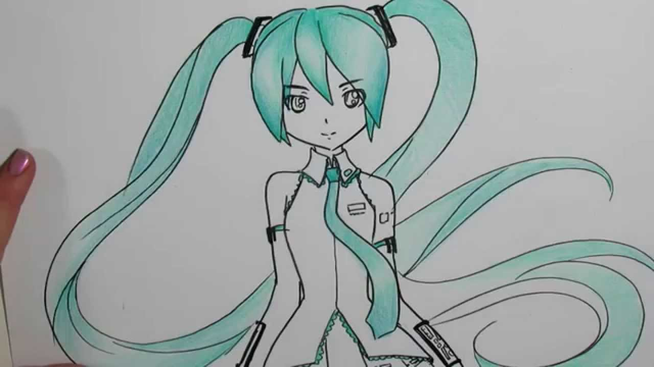 Miku Hatsune Drawing At Getdrawings Com Free For Personal Use Miku