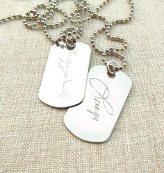 236x249 Custom Dog Tag Long Distance Relationship Hand Stamped Stainless