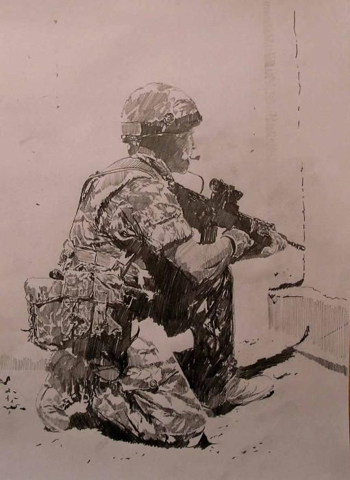 511x700 Warfighter Concept Art Military, Military Art