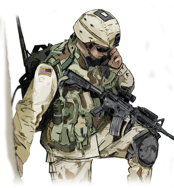 600x650 1 Soldier By Milyjones