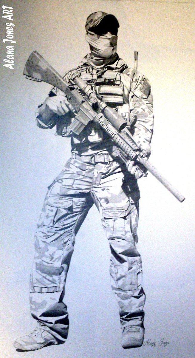 654x1200 Alana Jones Artworks On Twitter Australian Sas Soldier Drawing