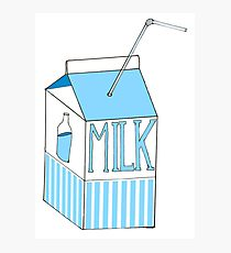 210x230 Flavour Milk Drawing Photographic Prints Redbubble